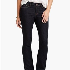 Lucky brand Brooke boot dark wash jeans